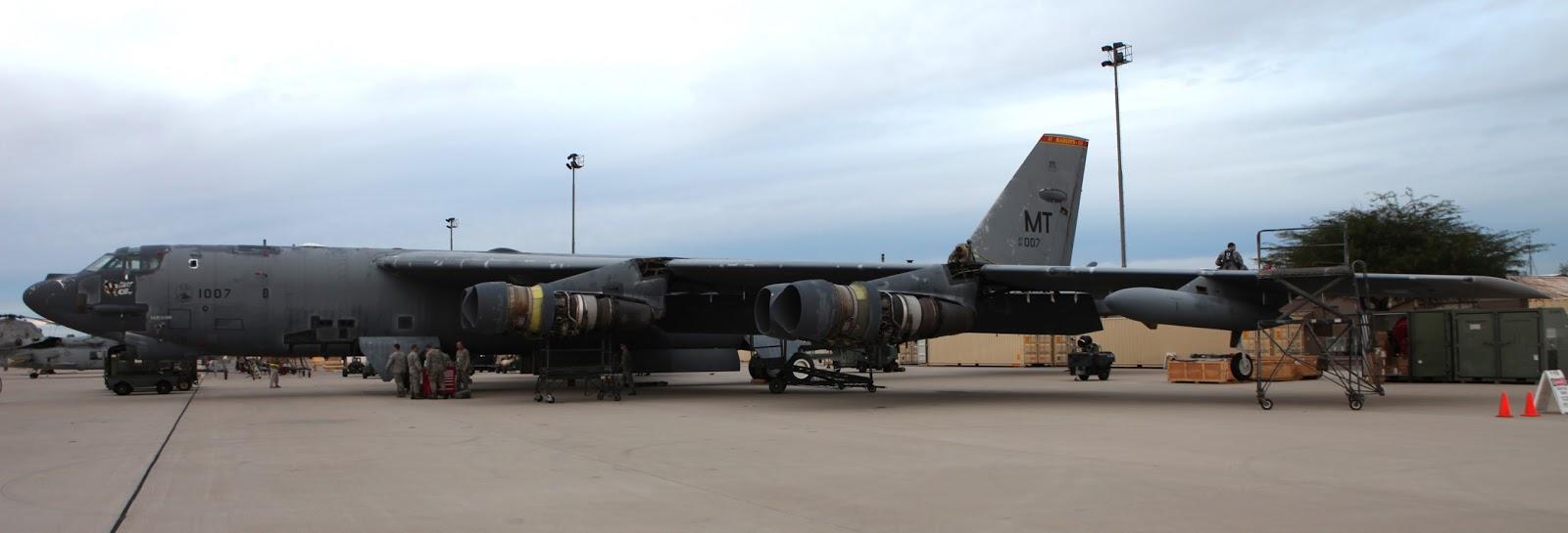 B-52H serial number 61-0007
