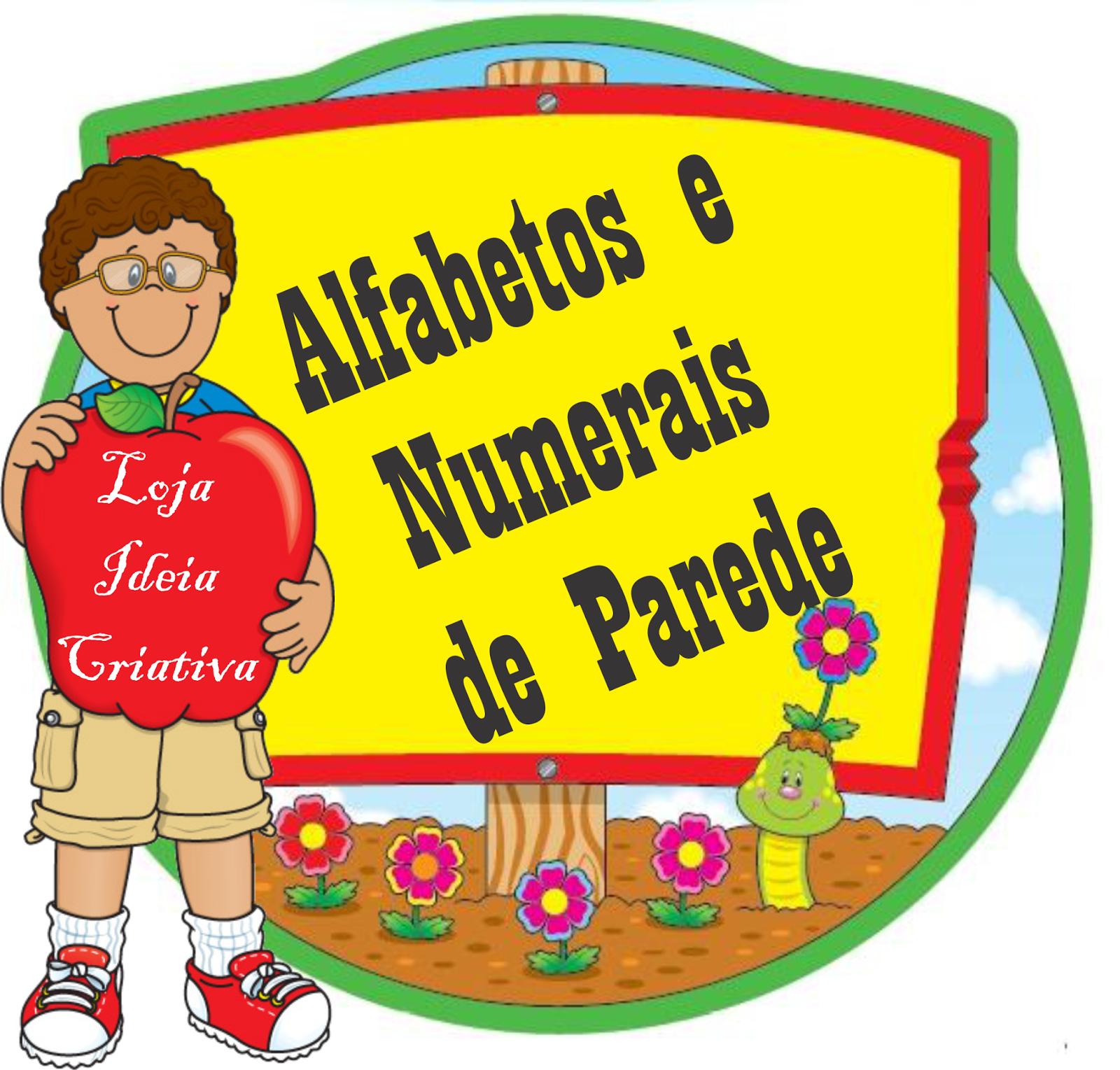 Alfabetos e Numerais