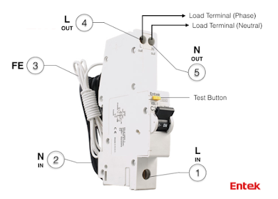 Awesome Entek Electric How To Wire An Rcbo Wiring 101 Mecadwellnesstrialsorg