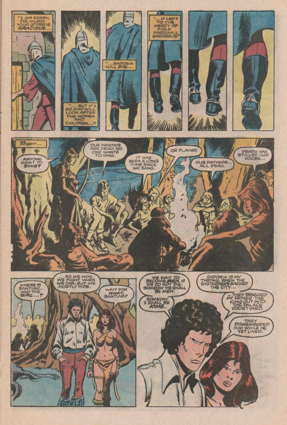 Conan the Barbarian (1970) Issue #174 #186 - English 12
