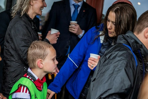 Princess Mary Of Denmark Opens 'Rad Til Livet' In Aalborg