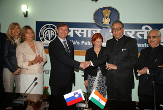Prasar Bharati and Radio-Television Slovenia Join Hands for Programs