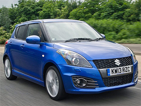 2013 Suzuki Swift Sport 5-door Japanese car photos