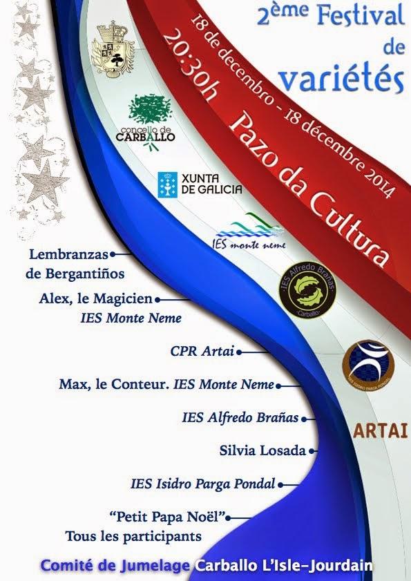 2ème Festival de Variétés à Carballo