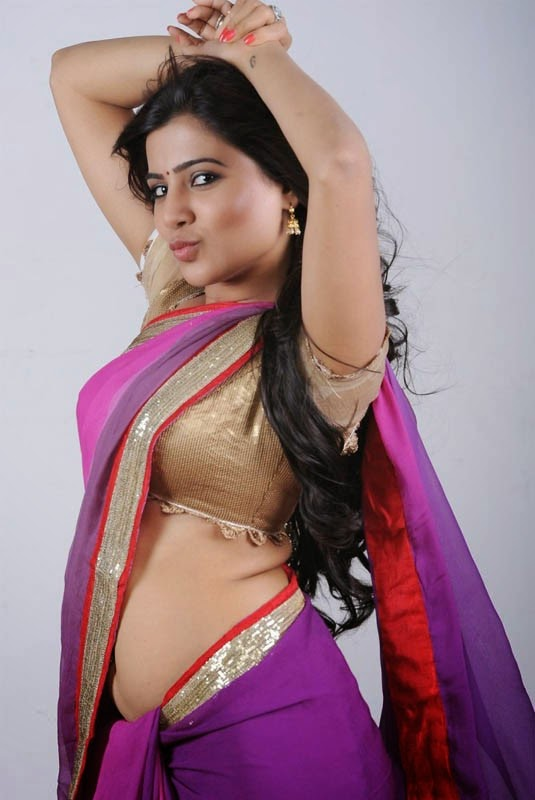 Samantha Hot in Saree