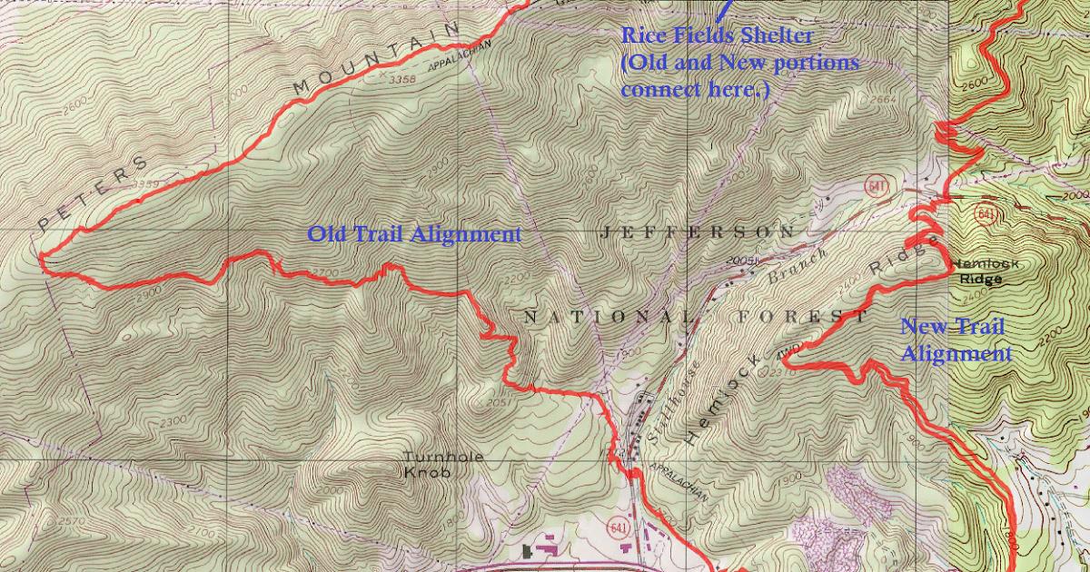 Wandering Virginia: Appalachian Trail Reroute Hike - Pearisburg to ...