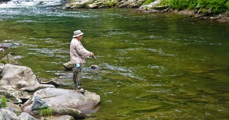 Nc mountain news fall trout fishing in the smokies for Cherokee trout fishing