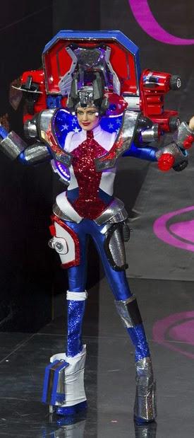 """Japón : """"Miss Universo parece desfile cosplay"""""""