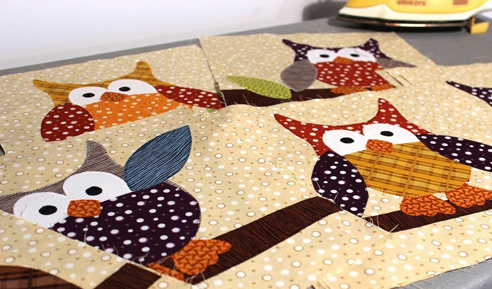 Jennifer Jangles Blog: Okey Dokey Owl and Friends Quilt for Extra ... : owl quilt patterns - Adamdwight.com