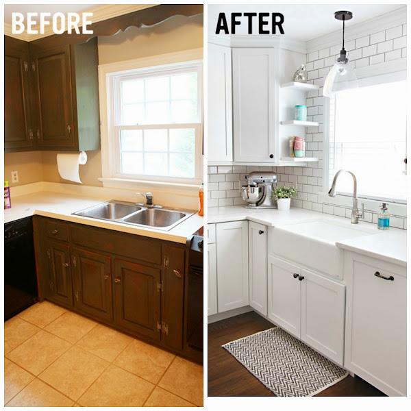 Pisos oscuros decorar tu casa es for Renovar cocina pequena