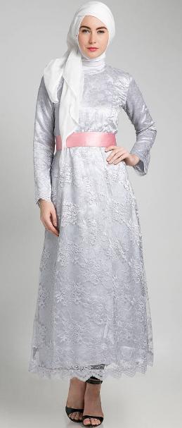 Contoh Baju Muslim untuk Pesta