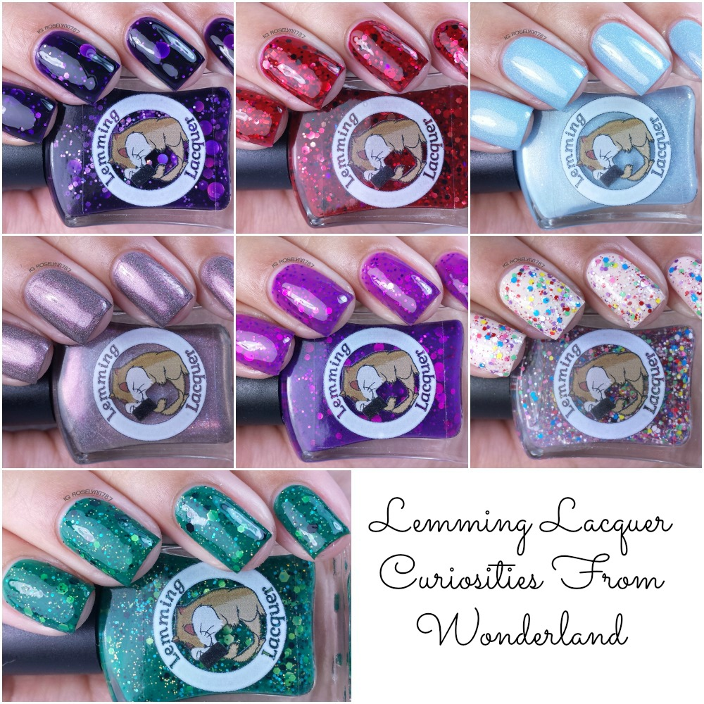 Lemming Lacquer - Curiosities From Wonderland