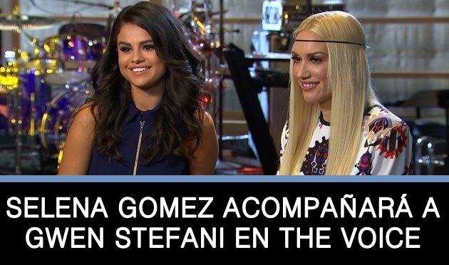 Gwen Stefani habla de la participación de Selena Gomez en The Voice