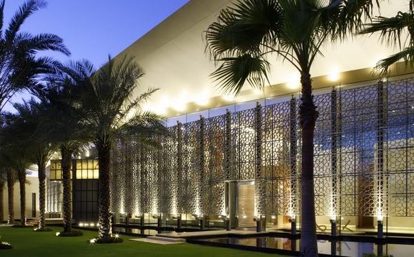 Ambassade du design design maison de luxe mirats for Architecture islamique moderne