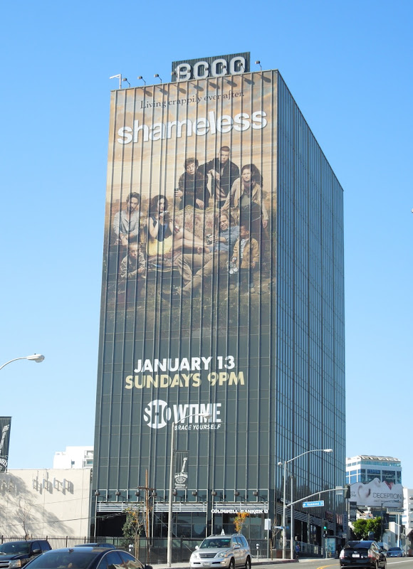 Shameless season 3 Showtime billboard