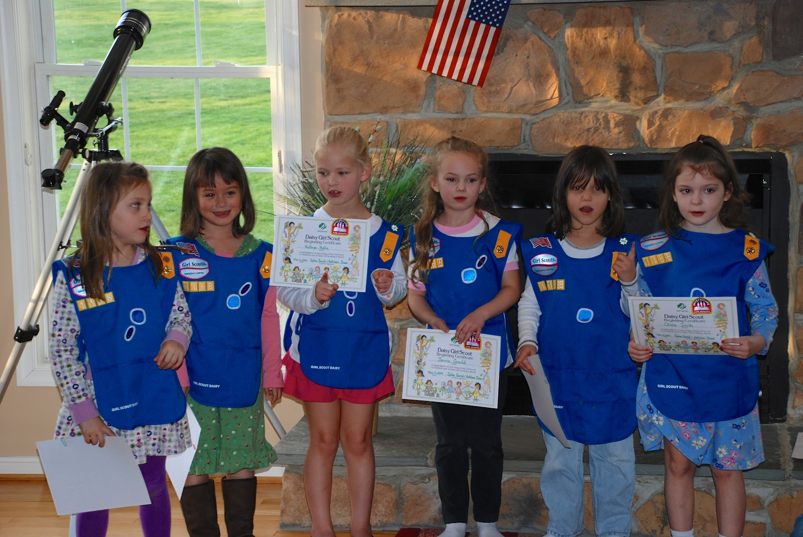 girl scout troop 1138 daisy investiture