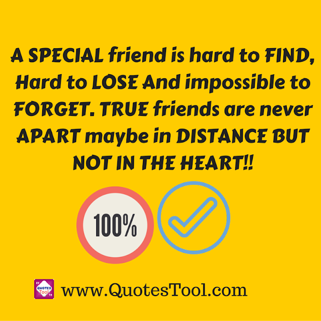 Special friend realization Quotes Image