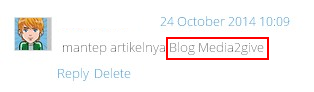 Cara Menghilangkan Link Aktif Di Komentar Blog
