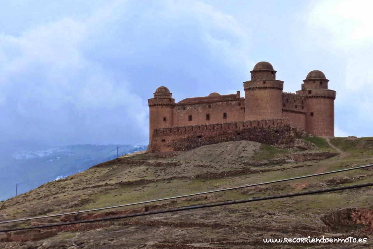 Detalle castillo La Calahorra