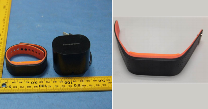 Lenovo SmartBand Revealed By FCC, Lenovo SmartBand, wearable device