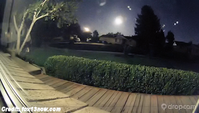 Mystery Fireball Lights Up The Utah Sky 10-2-14