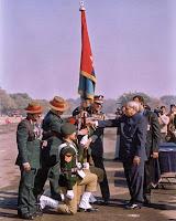 Ex. Prime Minister Shri Atal Bihari Vajpayee in Delhi Cantt