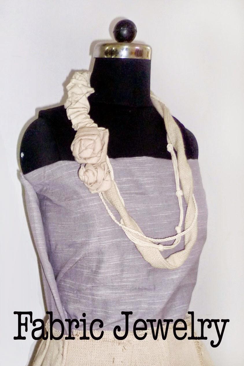 fabric jewelry by sayuri