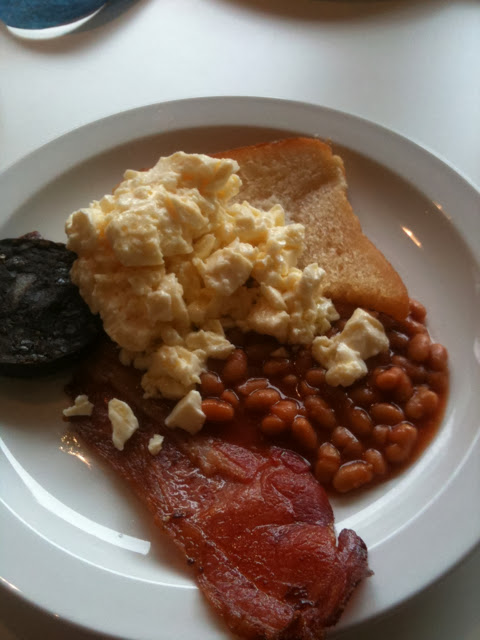 Butlins Deck cooked breakfast