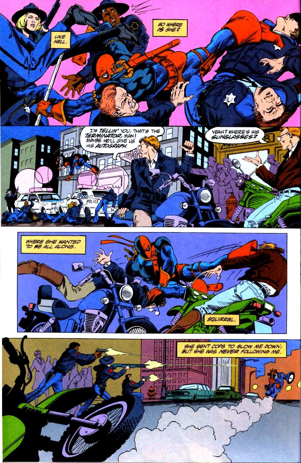 Deathstroke (1991) Issue #21 #26 - English 19