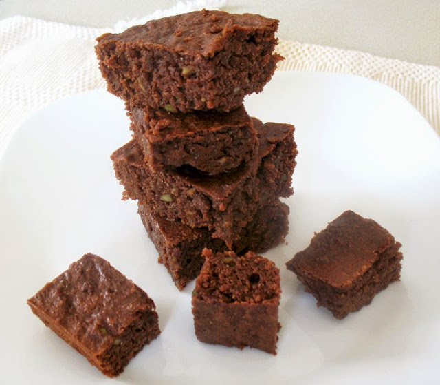 moist avocado brownies