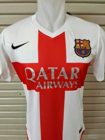 Jersey Barcelona 3rd 2014-2015 Leaked