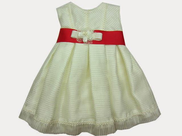 Vestido niña ceremonia 3 a 36 meses.
