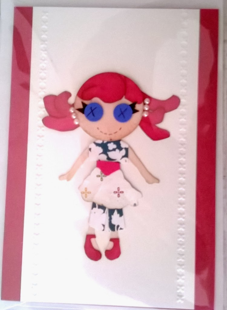 My little gal made by Zena Kennedy Independent Stampin Up demonstrqator