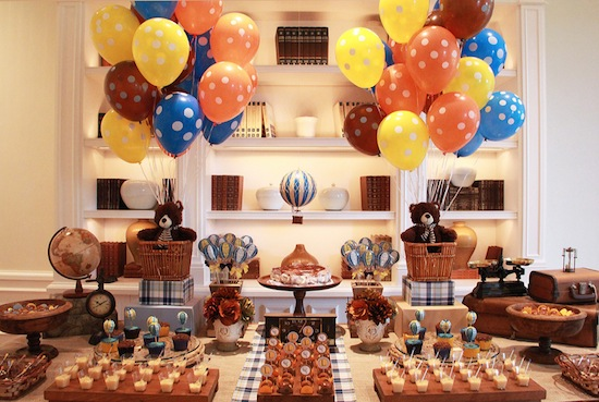 decoracao festa retro : decoracao festa retro: de menino , Batizado , Decoracao para batizado , festa infantil