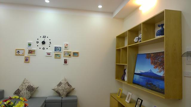 Không gian phòng khách tại căn hộ XPHOMES