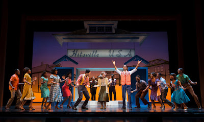 MOTOWN the Musical | Berry Gordy & Cast | Photo: Joan Marcus
