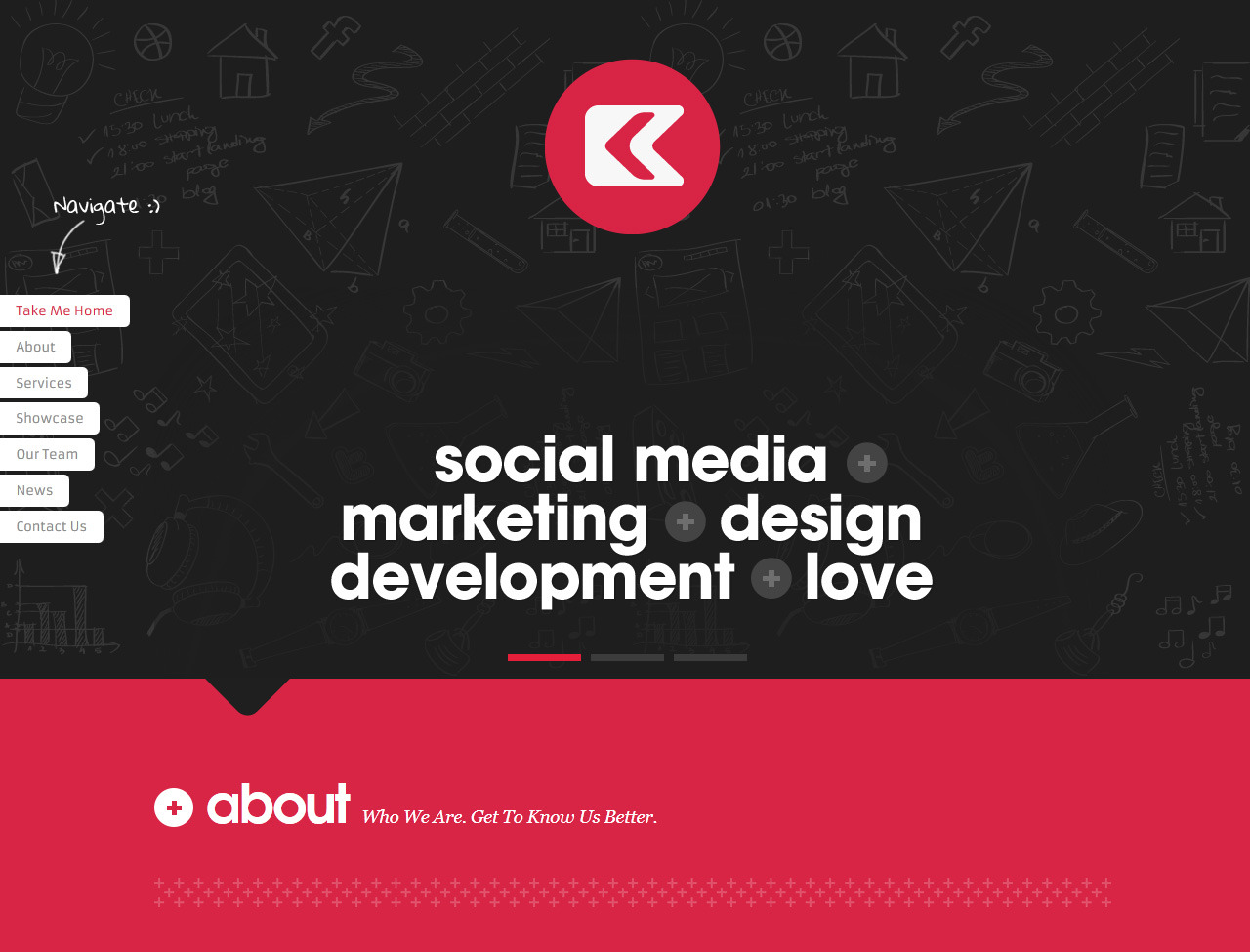 Css-xhtml-Kronos-Creative-Portfolio-Template