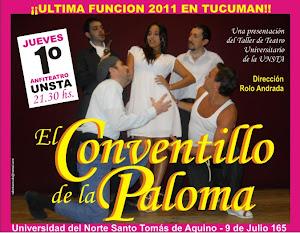 El Conventillo de la Paloma    Cierre de temporada 2011