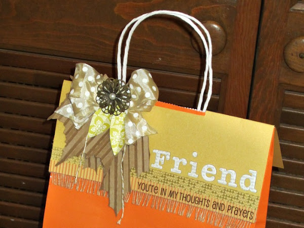 Gift Bag Topper by Christine Meyer