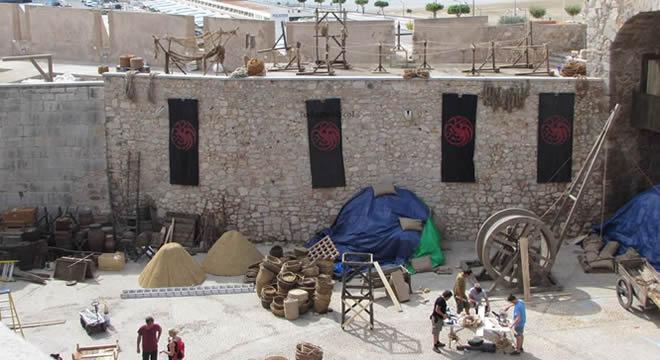 'Juego de Tronos' Decorados en Peñíscola