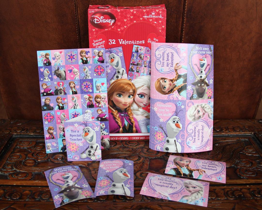 Hallmark Disney Frozen Kids Valentines - Diana #LoveHallmarkCA