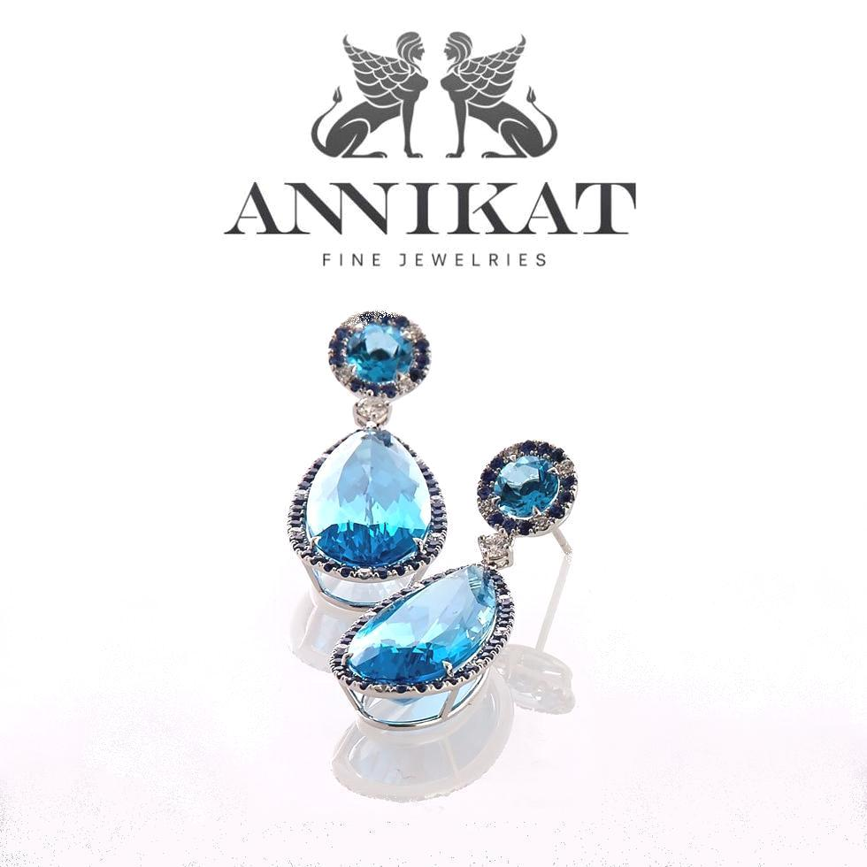 ANNIKAT Earrings  - Crown Princess Mary