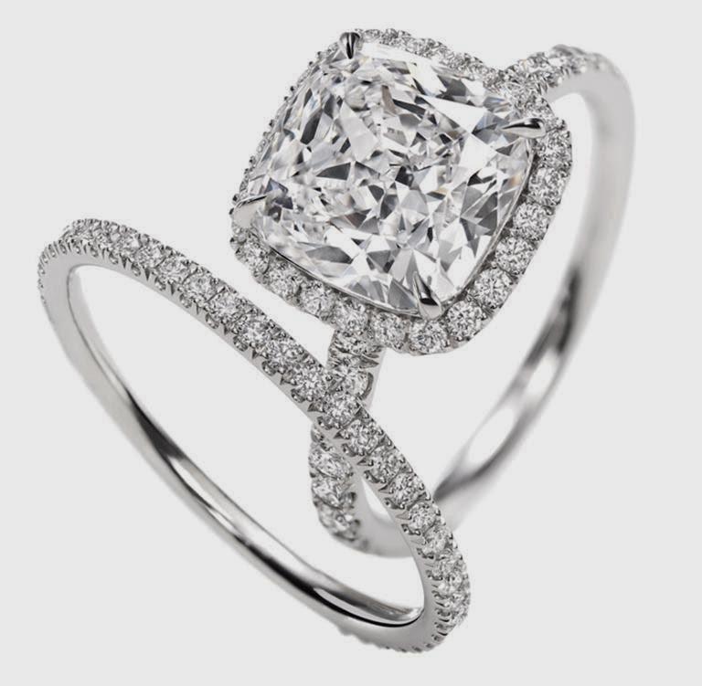 ... de bagues de fiançailles tendances entre diamants pierre précieuses