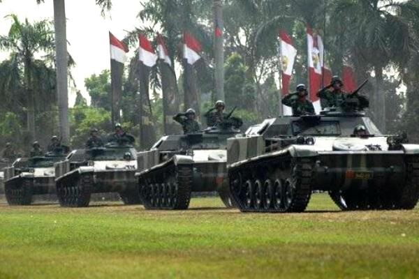 Armada Tank TNI-AD