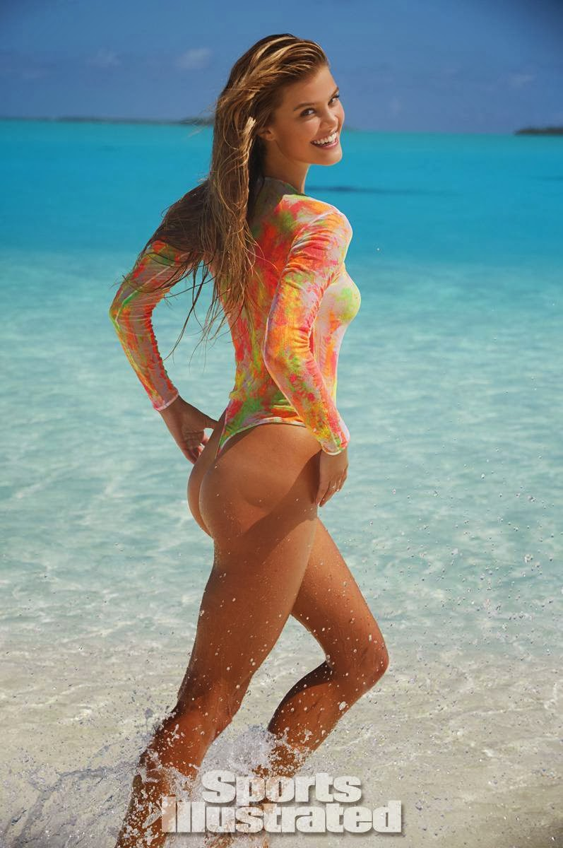 "Nina Agdal: ""Bikini Art"" on Sports Illustrated Swimsuit‭ ‬2014"