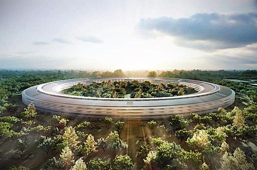 New Apple Headquarters [Cupertino City, California]