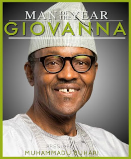 Pres. Buhari named Giovanna mag's Man of the Year 2015! Jidenna, Folorunsho Alakija, others win