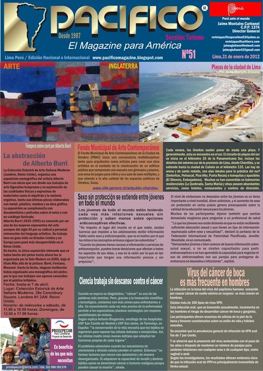 Revista Pacífico Nº 51 Turismo