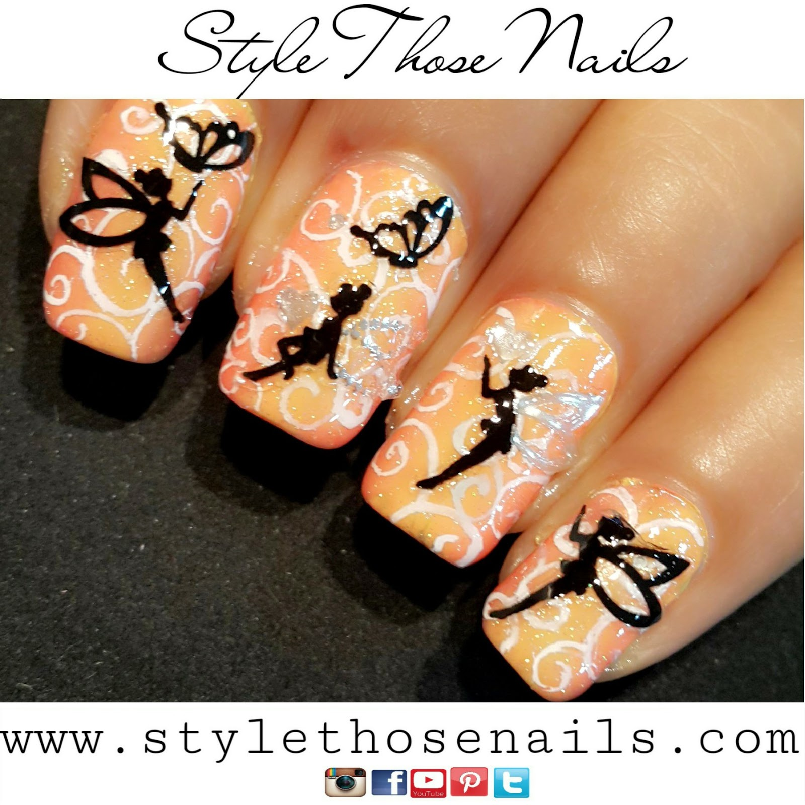 Style Those Nails: 40 Great Nail Art Ideas- Things That Fly: Fairies ...