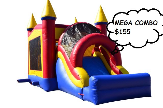 MegaCombo Dry or Wet Slide 13Wx30L